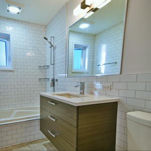 Rénovation de salle de bain à Oka